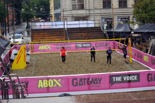 Пляжный волейбол в Осло