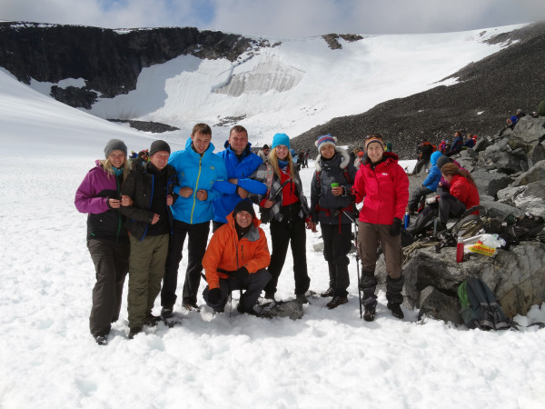 самая высшая точка Норвегии Галлхёпигген