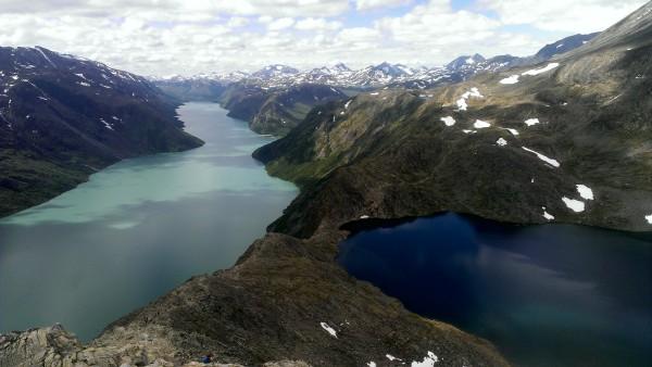 Бессеген Гьенде озеро в Норвегии