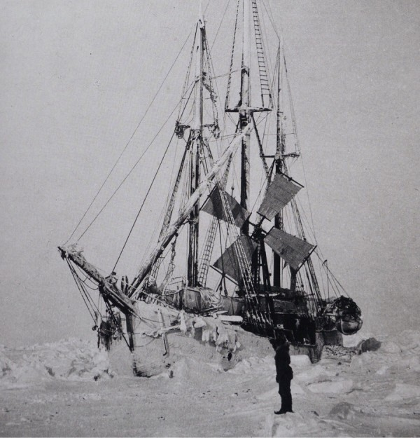 Фрам зажатый во льдах