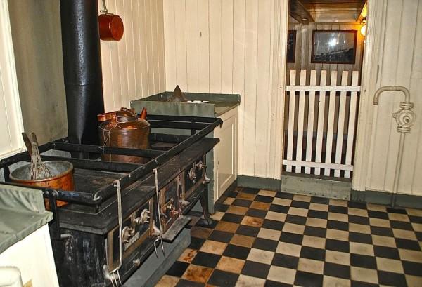 Кухня на корабле Фрам