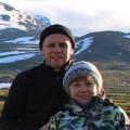 Наш тур в Норвегию, Николай и Елена Сироткины.
