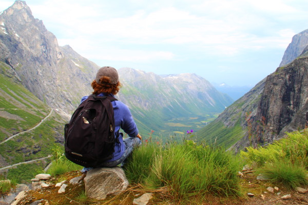 Дорога Троллей медитация Норвегия 2105