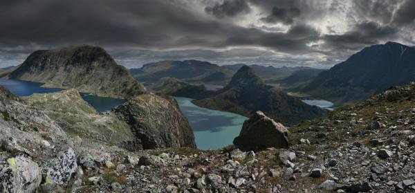 Хребет Бессеген Норвегия