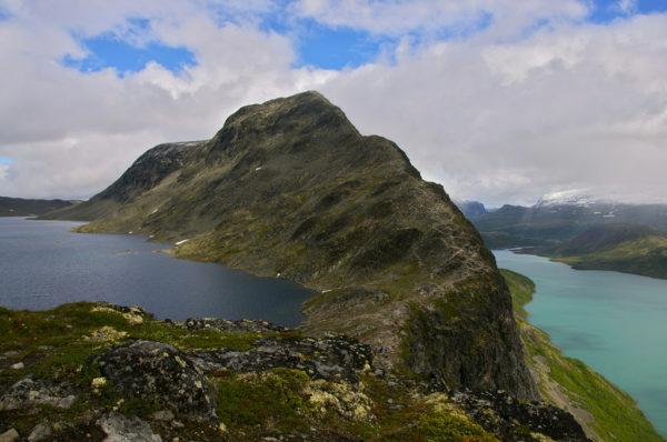 Туристическая тропа по хребту Бессегген Норвегия