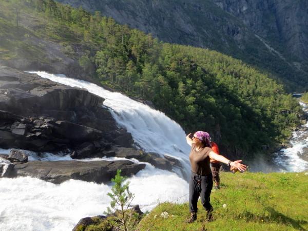 Водопады Кинсарвика