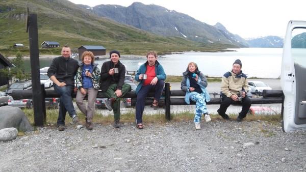 Отзыв о Норвегии группа на привале