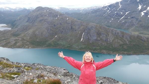 Отзыв о Норвегии озеро Гьенде
