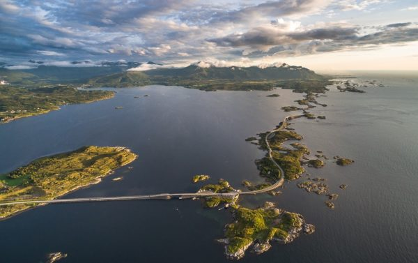 Атлантическая дорога в Норвегии тур фьорды Норвегии