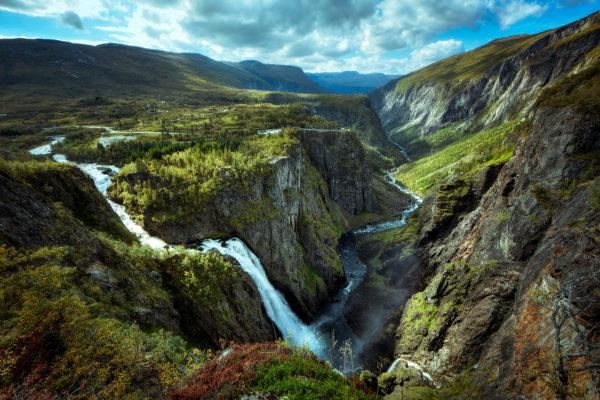 Тур в Норвегию водопады Voringfossen