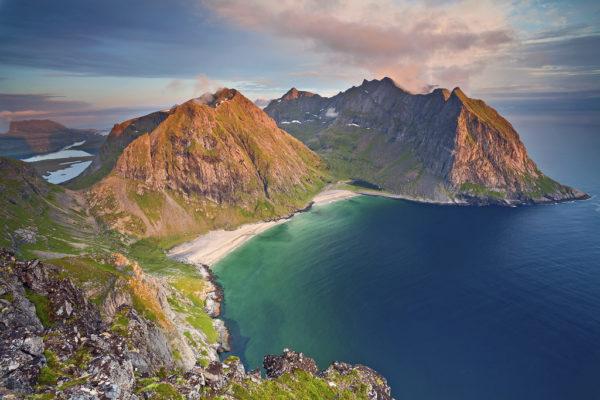 Kvalvika Beach Lofoten tour Пляж Квалвика тур Лофотенские острова.