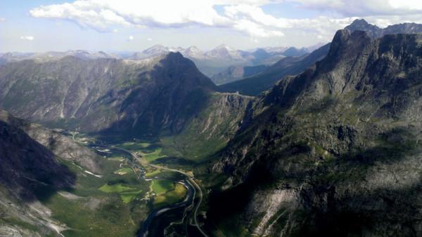 Панорама в Норвегии