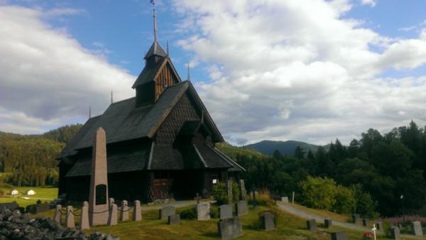 Церковь в провинции Телемарк