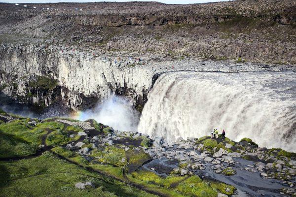 Водопад Детифос