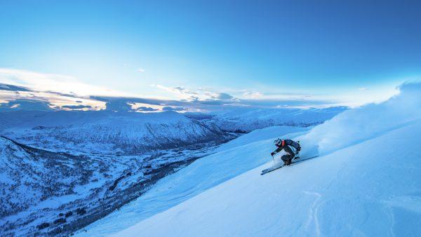 отдых в Норвегии зимой на горных лыжах