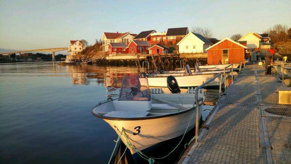 Тур рыбалка в Норвегии остров Хитра
