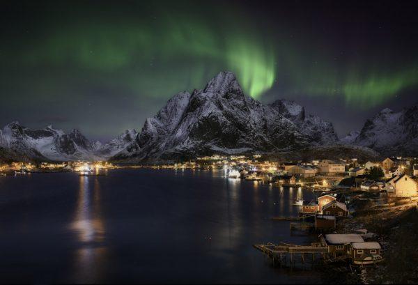 Северное сияние на Лофотенских островах тур в Норвегию