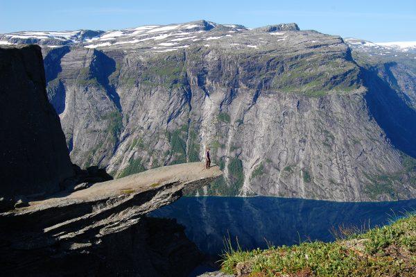 На языке тролля в Норвегии