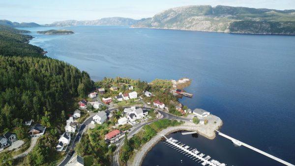 Рыболовная база в Норвегии