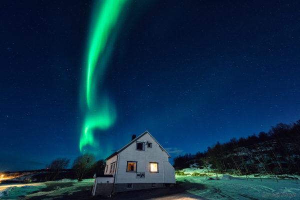 Северное сияние Aurora Borealis