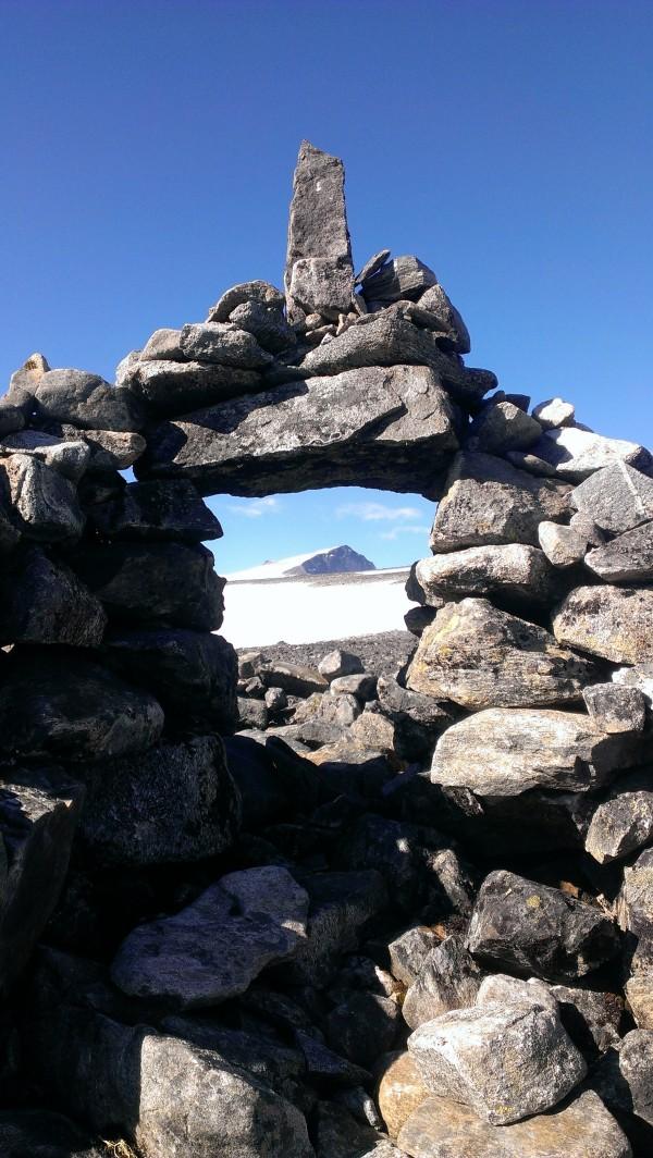 Галлхёпигген вершина скандинавских гор