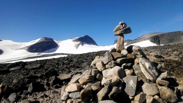 Топ оф Норвей Галлхёпигген (Galdhopiggen) 2,469 м - самая высокая вершина скандинавских гор.
