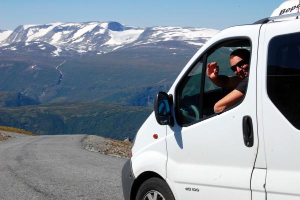 Raubergstulsvegen платная дорога в Норвегии
