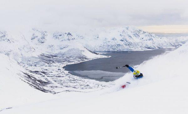отдых в Норвегии на лыжах зимой фрирайд Лофотенские острова Норвегия
