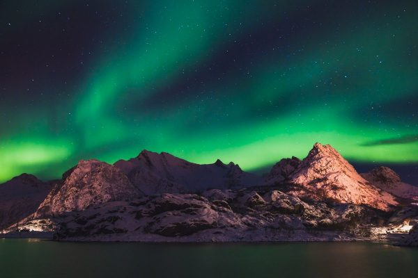 Тур северное сияние в Норвегии