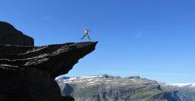 Тур Язык Тролля в Норвегии.